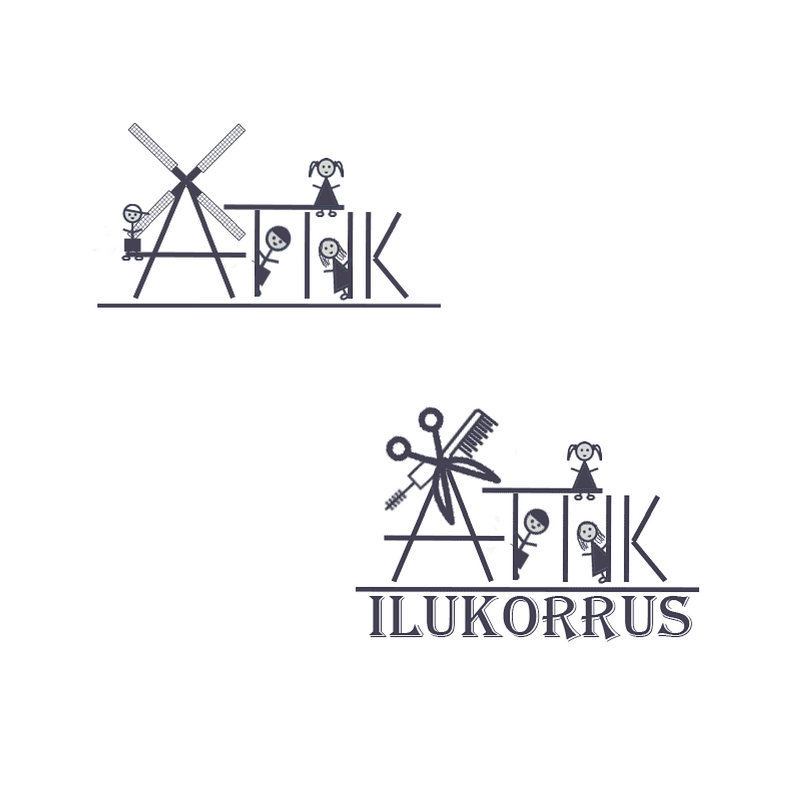 Riin.eu Disain ja firma tunnusgraafika Ättik logo