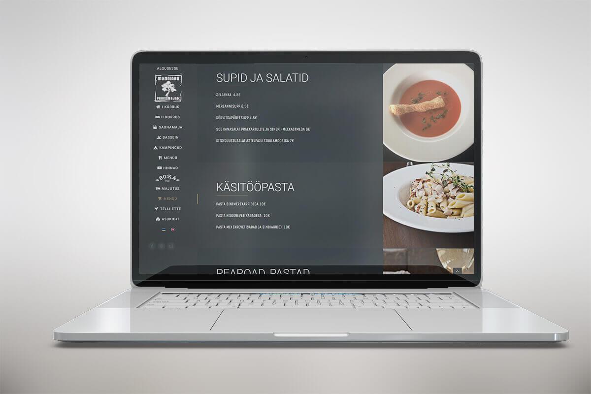 Riin.eu-restorani koduleht - Männiaru.eu- menüü (1)