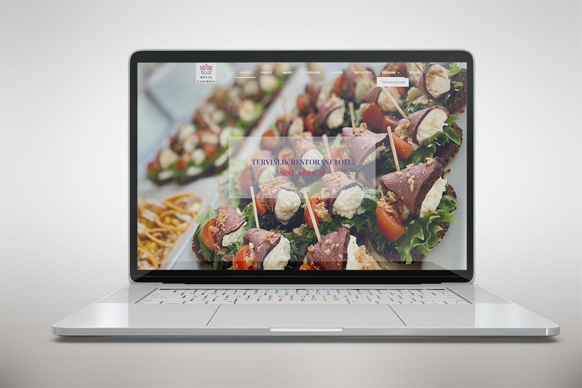 Riin.eu---tehtud-tööc-restorani-koduleht--royal-catering-avaleht
