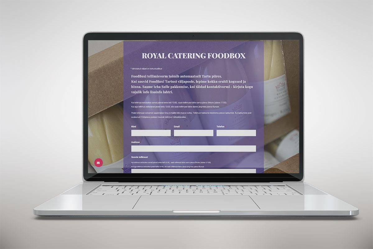 Riin.eu---tehtud-tööc-restorani-koduleht--royal-catering-foodbox-tellimisvorm