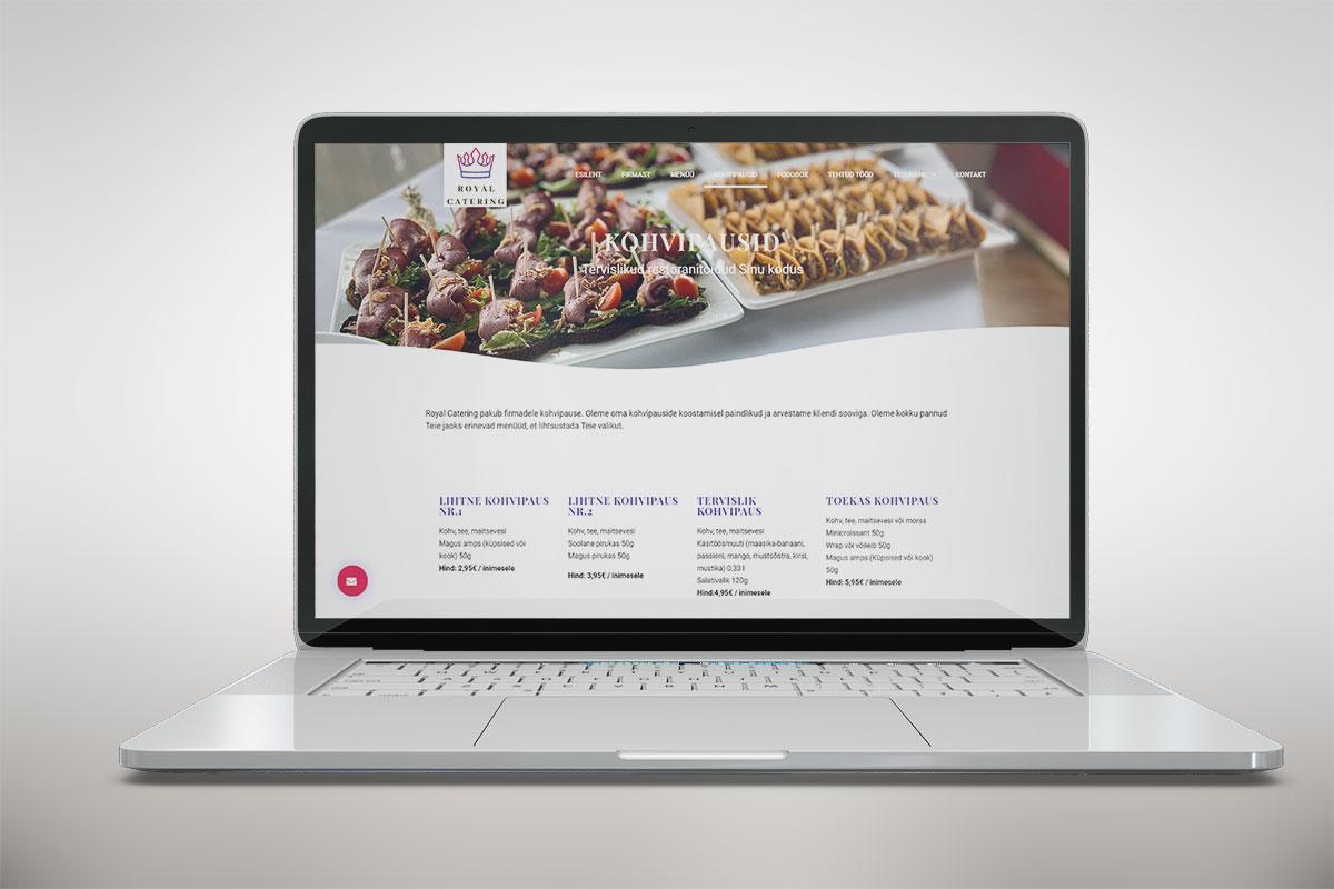 Riin.eu---tehtud-tööc-restorani-koduleht--royal-catering-kohvipausid