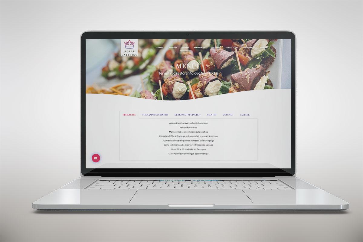 Riin.eu---tehtud-tööc-restorani-koduleht--royal-catering-menuu
