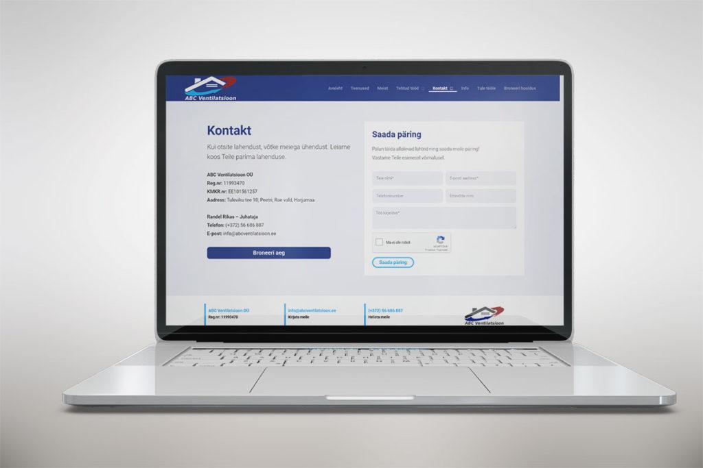 Riin.eu--tehtud-tööd--koduleht-kontaktileht-kontaktivorm